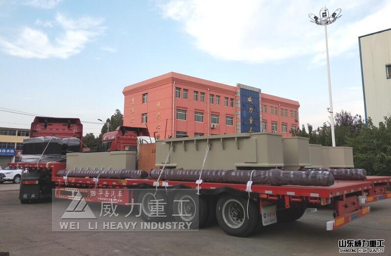 4000吨油压机拆装发货
