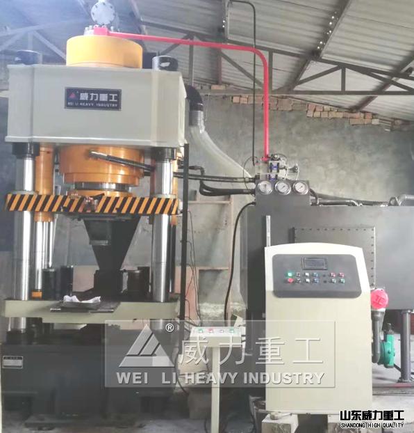 铁粉压块液压机