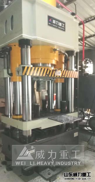 铁粉压块四柱成型液压机