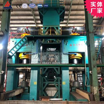 粒子钢热压机1600吨压块液压机生产线