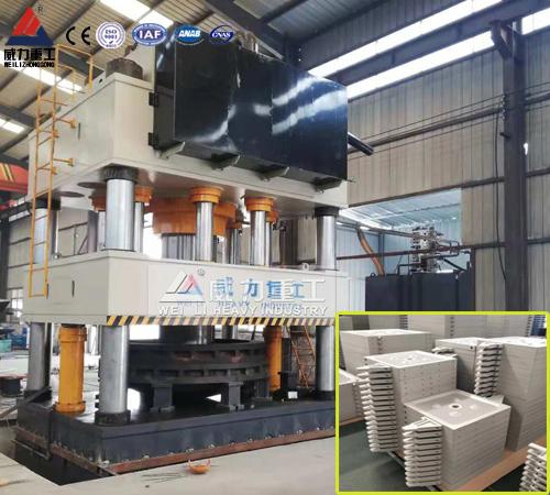 复合材料滤芯板专用1000吨四柱液压机